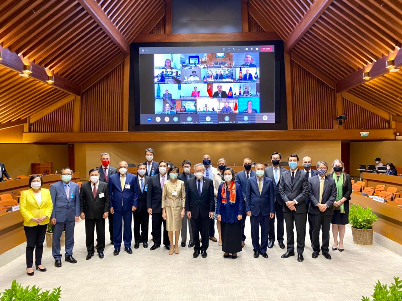 5th High-Level Brainstorming Dialogue on Enhancing Complementarities between the ASEAN Community Vision 2025 and the United Nations 2030 Agenda for Sustainable Development, 31 March 2021