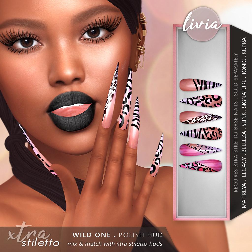 LIVIA // Xtra Stiletto – Wild One HUD