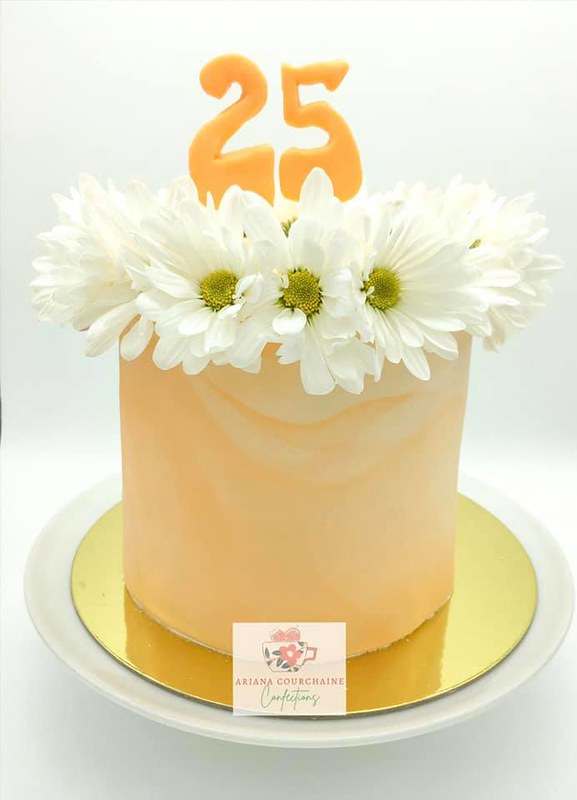 Cake by Ariana Courchaine Confections