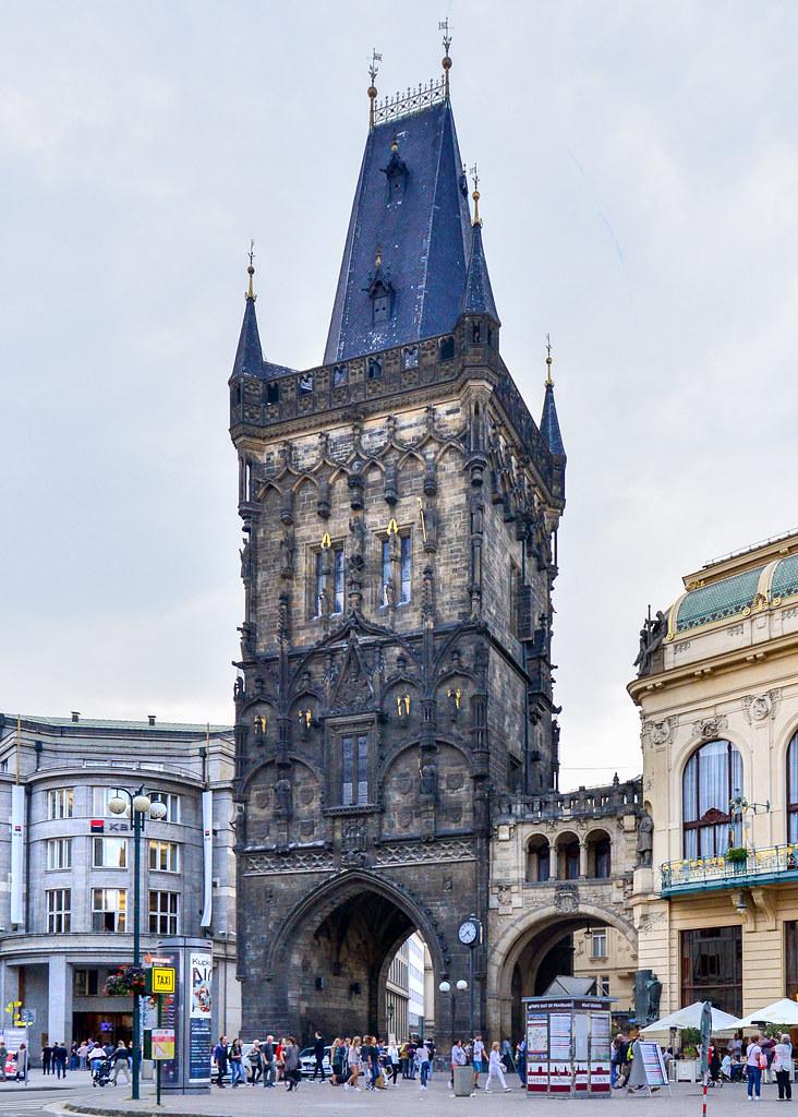 Torre de la Polvora en Praga
