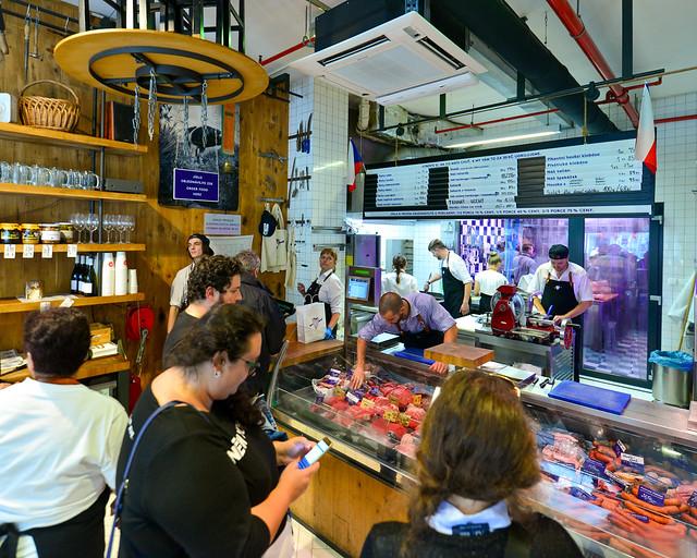 Carnicería restaurante Naše maso en Praga