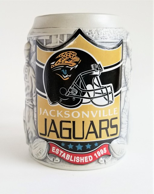 Jax Jags Miller Lite NFL Beer Mug - 1995