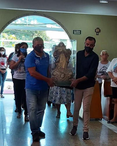 Imagem Peregrina na Paróquia Nossa Senhora de Guadalupe
