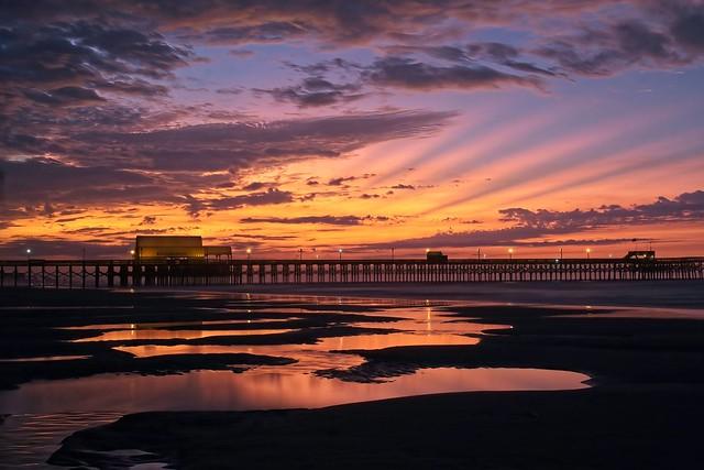 Morning walk-Myrtle Beach