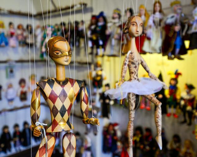 Tienda de marionetas Truhlár Marionety
