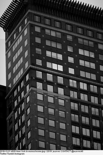 2018-12-31 4020 New York in monochrome