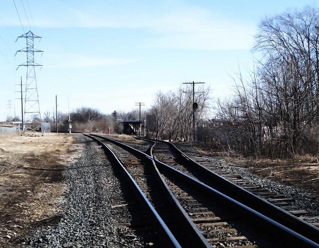 Tracks and poles