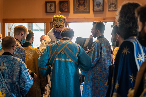 Annunciation feast highlighted by Bishop Andrei visit