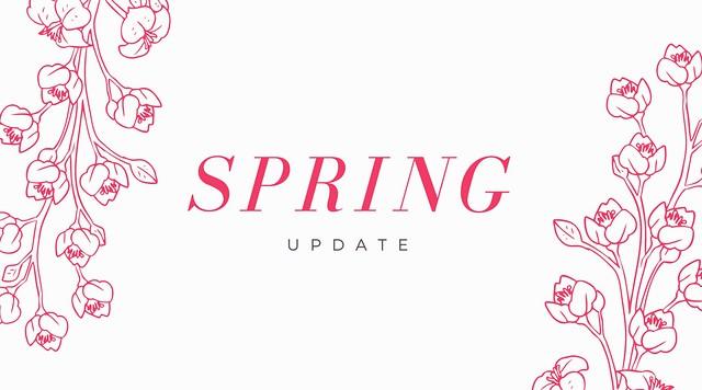 Spring Updates Tanvii.com