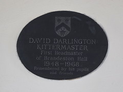 First Headmaster of Brandeston Hall