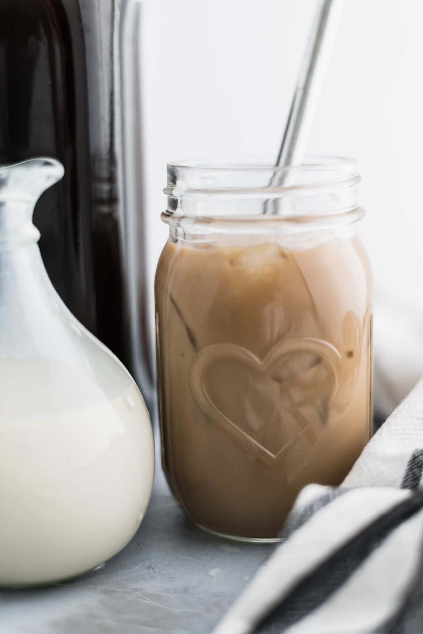 It's easier than you think to make Homemade Coffee Creamer. Just 3 ingredients needed with add-in options for all the fun flavors.