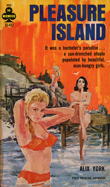 Midwood Books 32-422 - Alix York - Pleasure Island