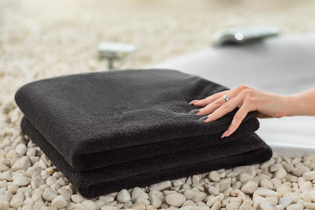 Black Soji towel