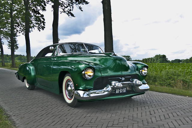 Chevrolet Styleline DeLuxe Convertible Coupé Customized 1952 (2808)