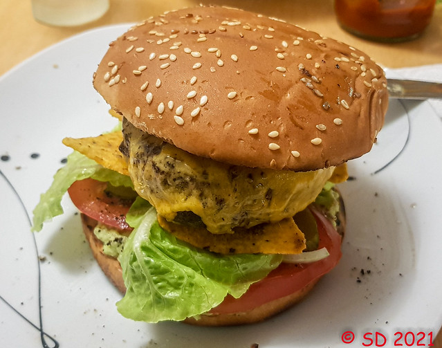 Cheesburger Tex Mex