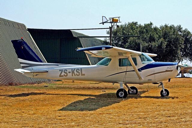 ZS-KSL   Cessna 152 [152-84728] Krugersdorp-Oatlands~ZS 13/09/2014