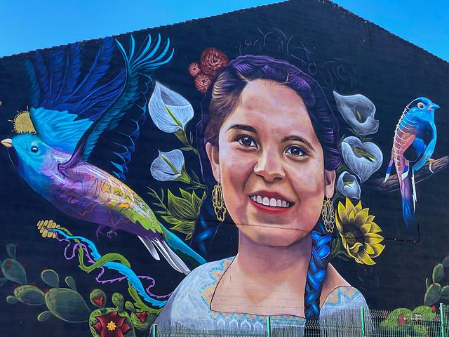 Eldorado mural close-up