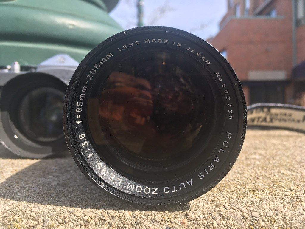 Spotmatic and Polaris Telephoto Zoom Lens.