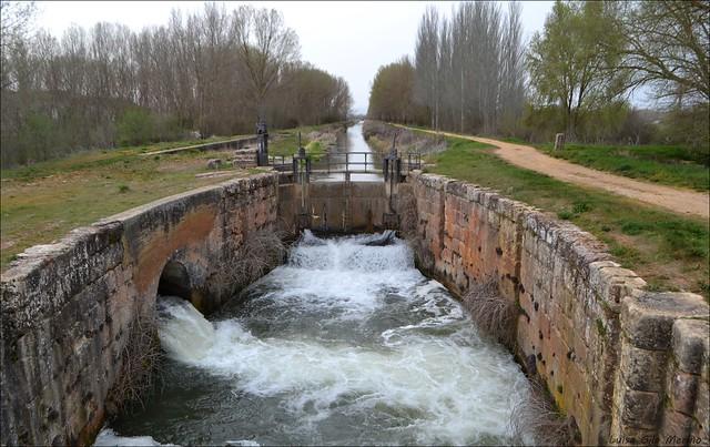 Canal de Castilla - Esclusa nº 8 del Ramal Norte