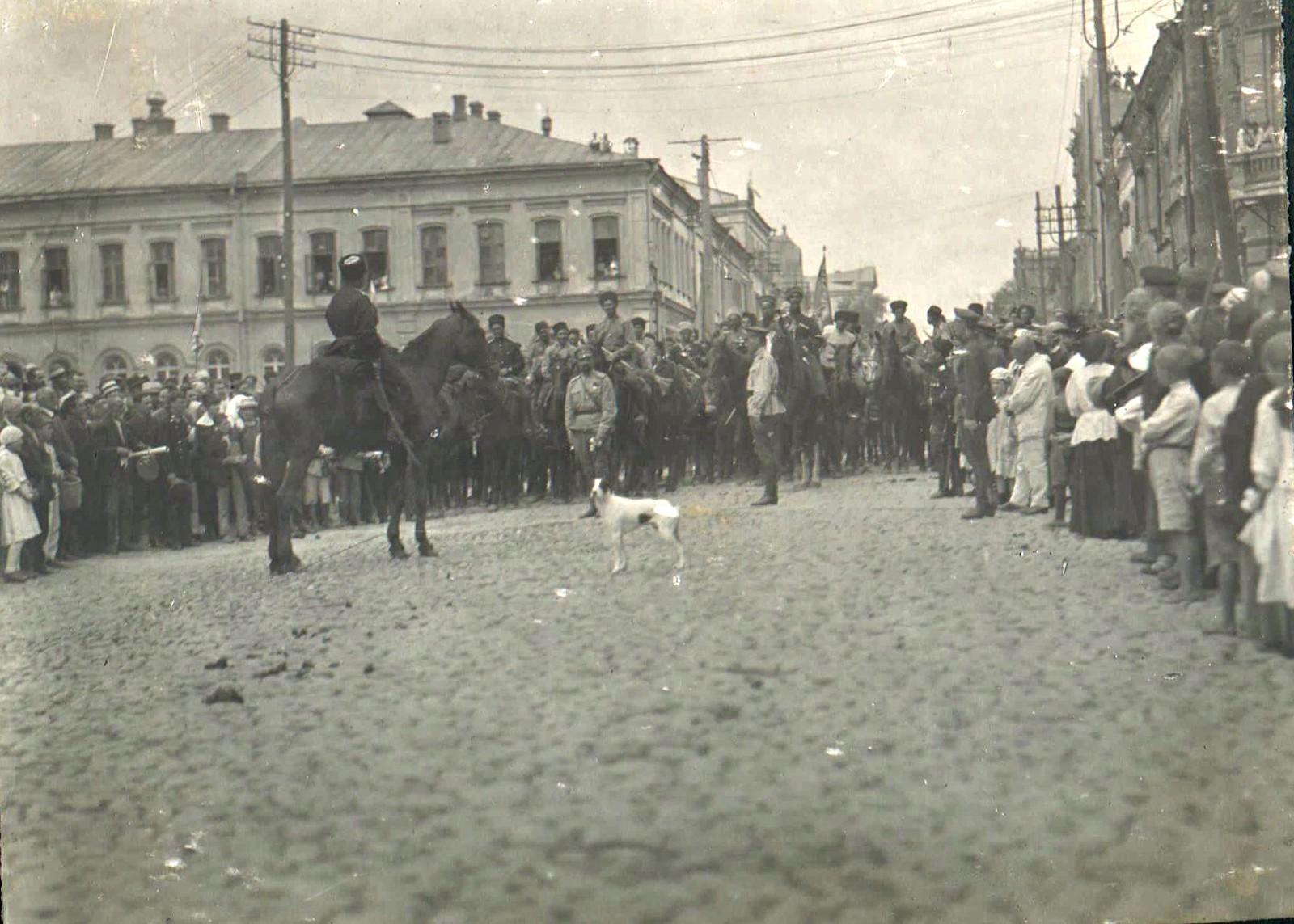 168. 1919. Чествование генерала Кутепова в Харькове