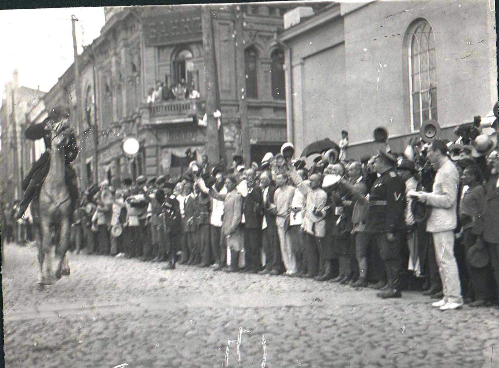 166. 1919. Чествование генерала Кутепова в Харькове