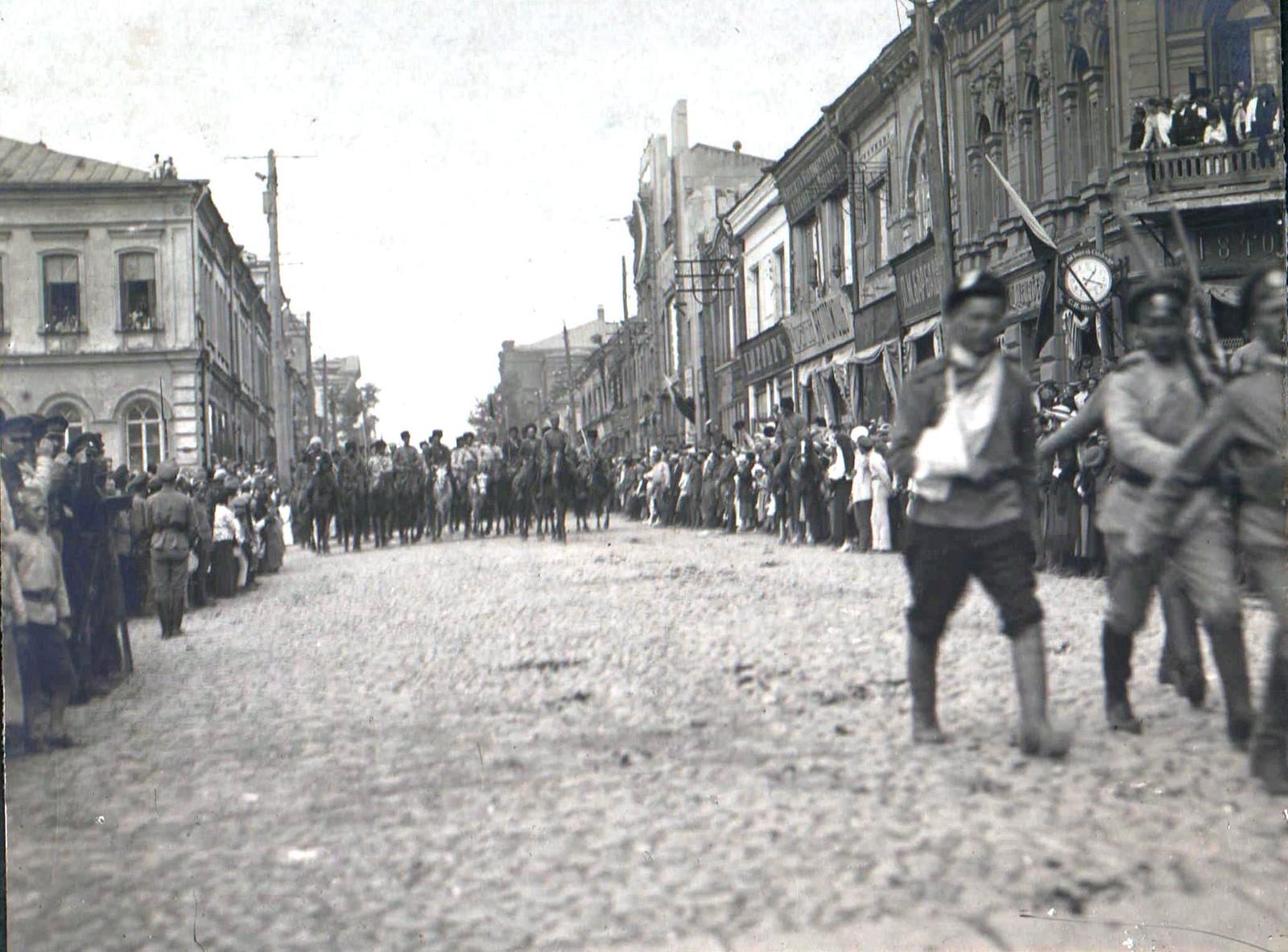 162. 1919. Чествование генерала Кутепова в Харькове
