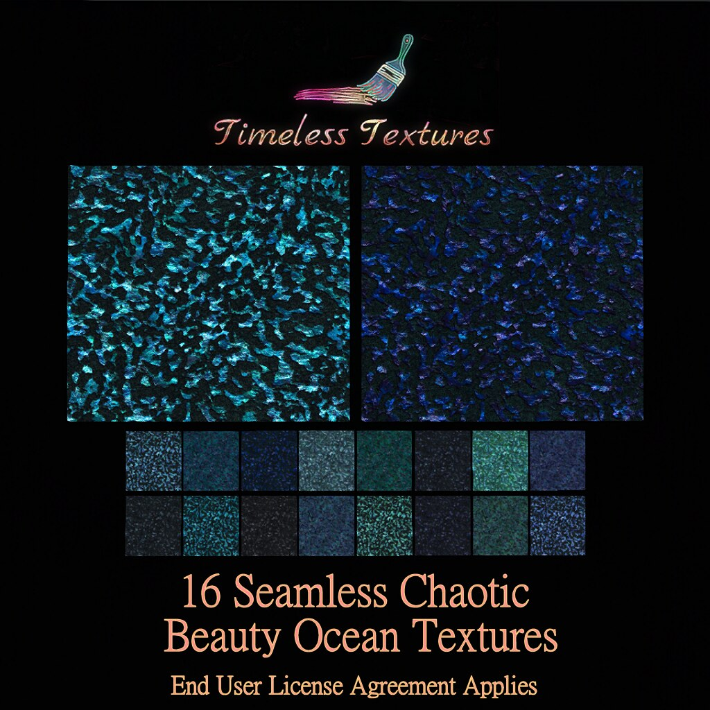 TT 16 Seamless Chaotic Beauty Ocean Timeless Textures
