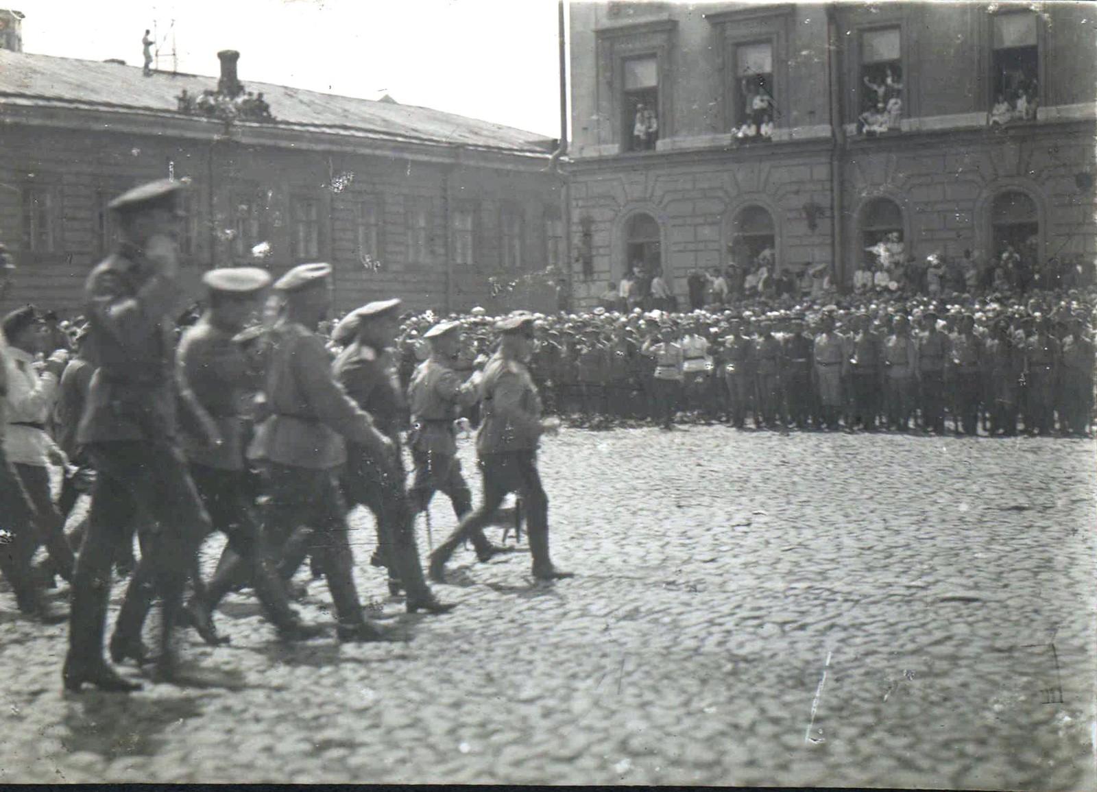 160. 1919. Чествование генерала Кутепова в Харькове