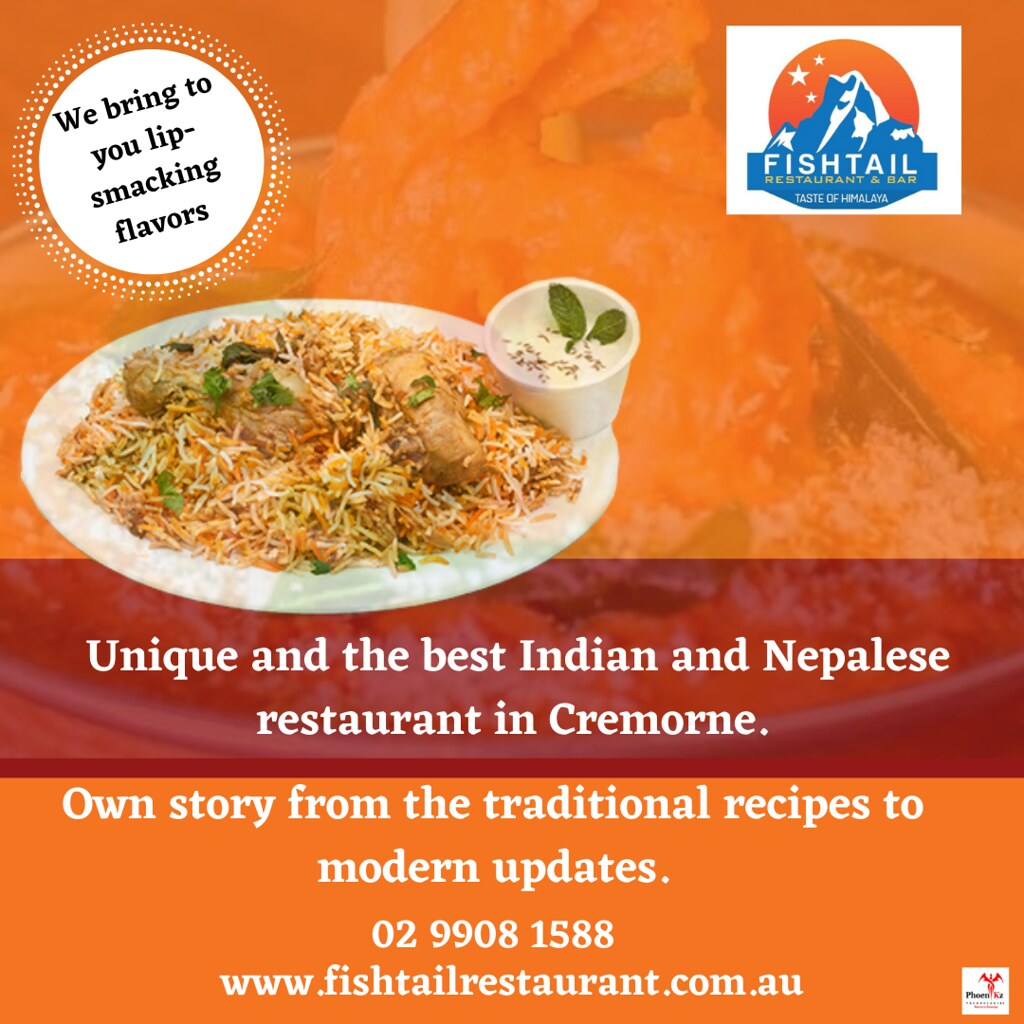 Indian and Nepalese cuisine