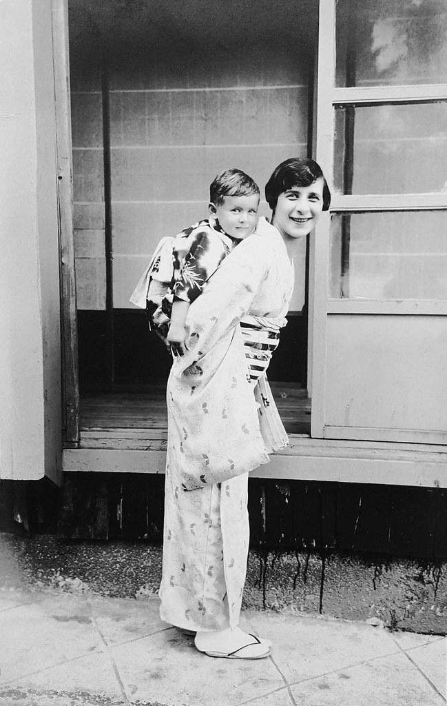 (Explored) Zoia and Reginald Harding Klimanek in Japan, ca. 1933