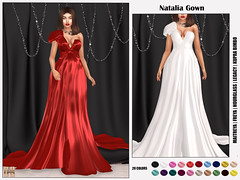Hilly Haalan - Natalia Gown