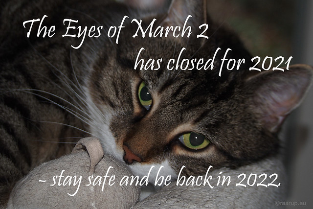The Eyes of March Two has closed for the year