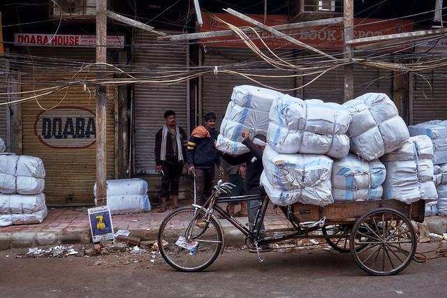 Old Delhi – At work