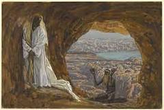 jesus dans le desert