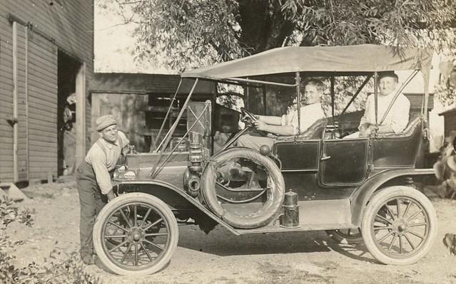 Brass Era Auto and Family