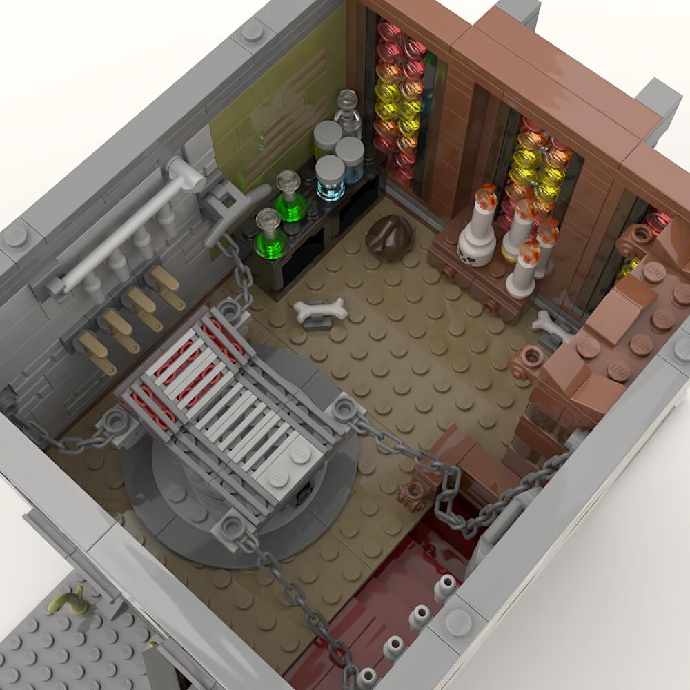 Lego MOC modular • Frank & Stein, Associates
