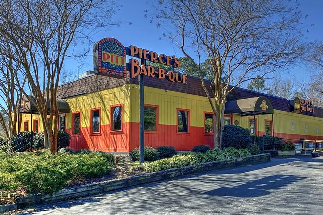 Pierce's Bar B Que-Interstate 64-Williamsburg VA 1614