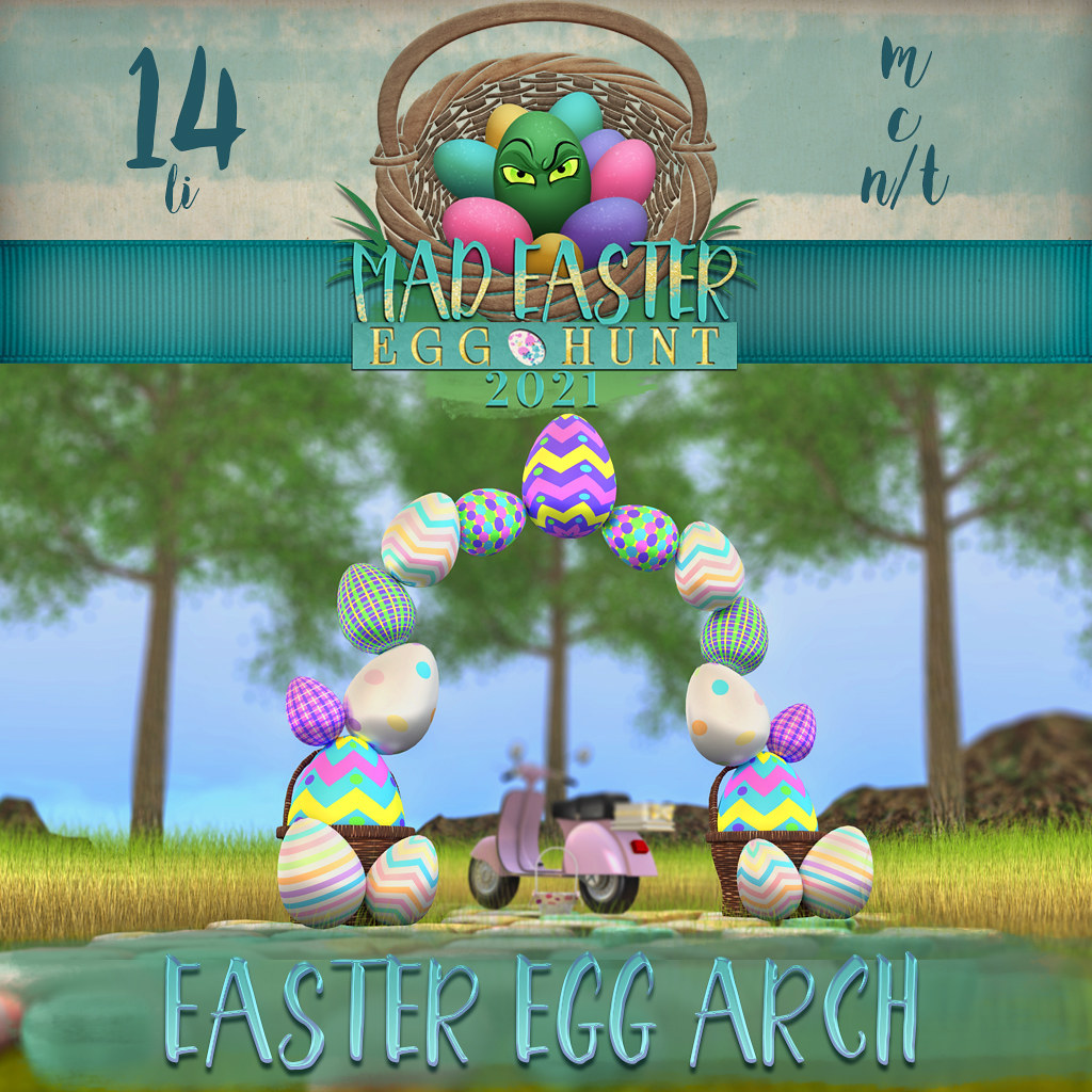 Easter Hunt Prize Reveal: Easter Egg Arch