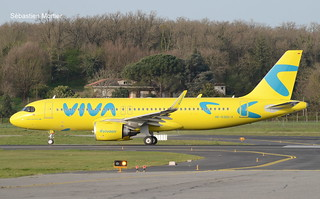 320.251-NEO VIVA AIR COLOMBIA HK-5365-X 10459 DELIVERY FLIGHT 31 03 21 TLS