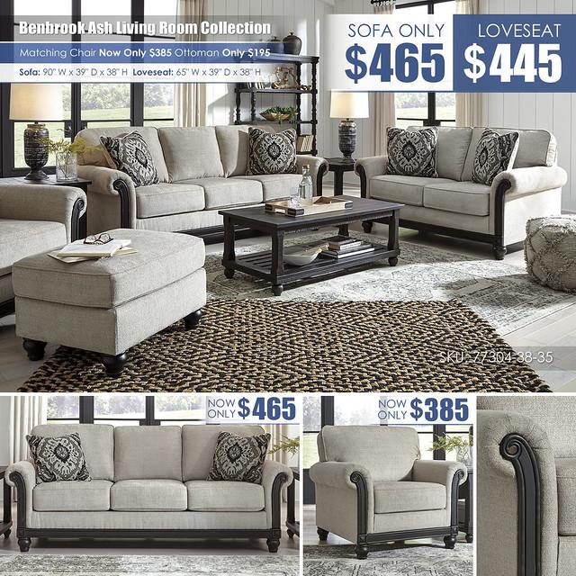 Benbrook Ash Sofa OR Loveseat_77304-38-35-T145