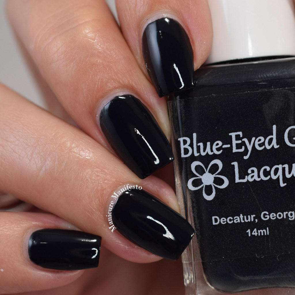 Blue Eyed Girl Lacquer Won't Sleep Again review