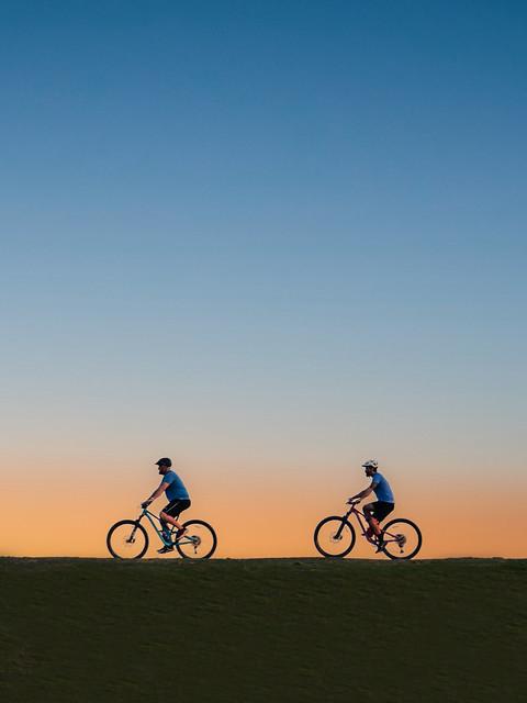 Biking at Boise Foothills, Spring 2021 (Explored 4/1/2021)