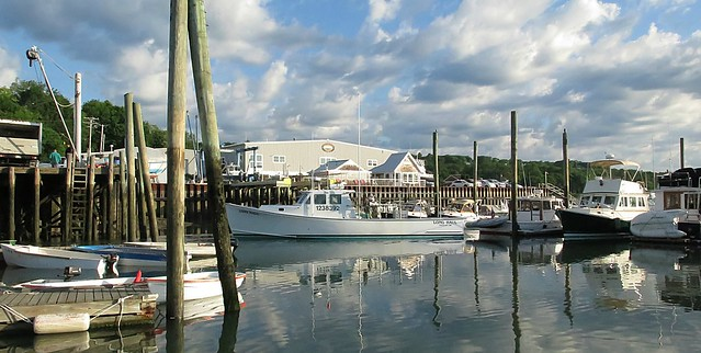 Early Morning on Freeport Harbor