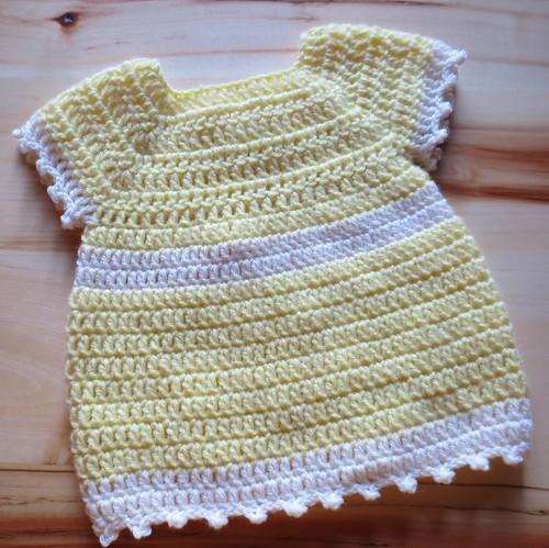 Basic Crocheted Baby Dress