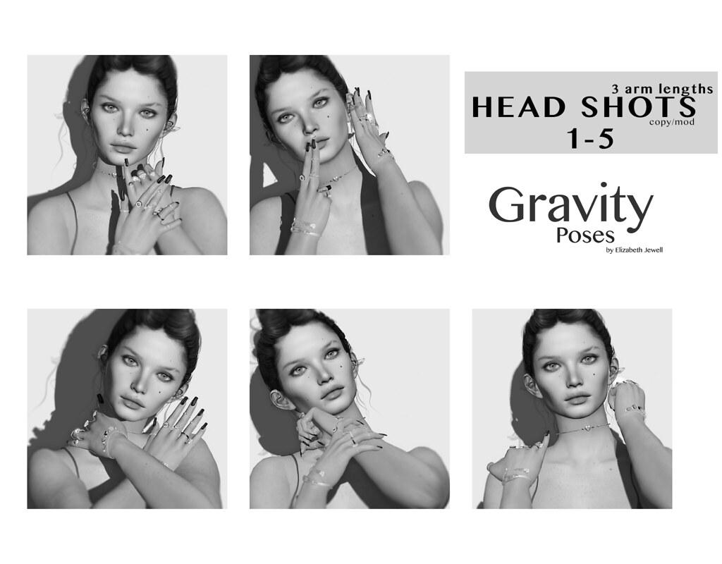 Gravity Poses – Head Shots