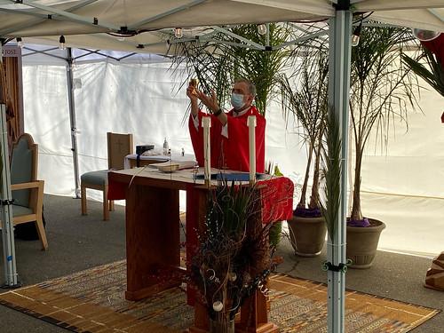 聖枝主日前夕室外彌撒 Palm Sunday Vigil Outdoor Mass 2021