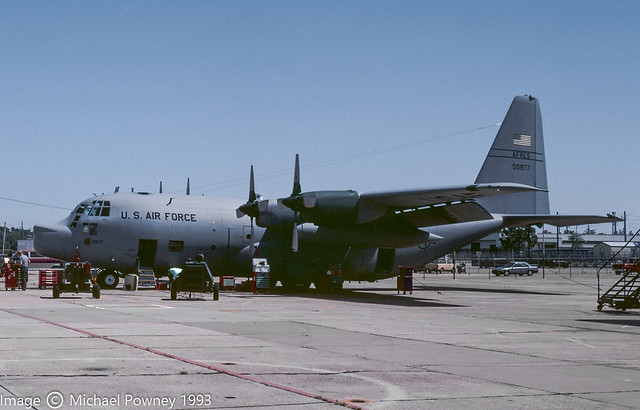 65-0977 - 1965 fiscal Lockheed WC-130H Hercules, airframe later transferred to  NASA as N427NA (possibly for spares use only)