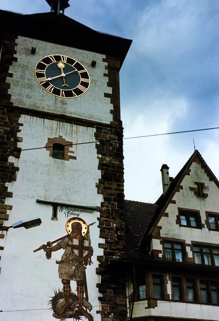 Freiburg 1987 (02) Schwabentor