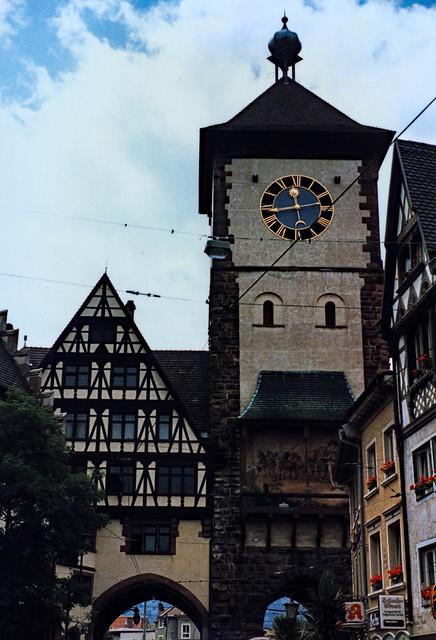 Freiburg 1987 (03) Schwabentor