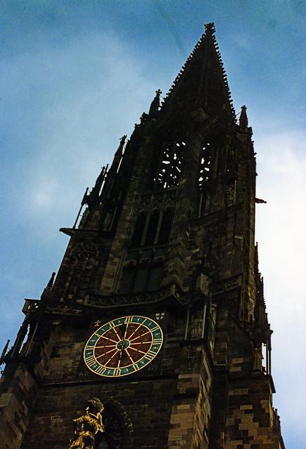 Freiburg 1987 (04) Freiburger Münster